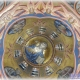 Общий вид росписи в барабане храма