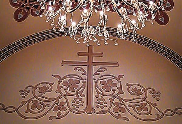Образ Св. Креста. Иконописная мастерская Палехский Образ