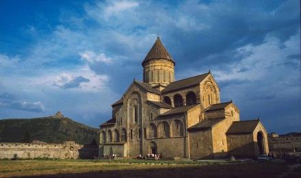 Храм Свети Цховели, Грузия